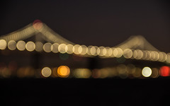 Bay Bridge light (pato_82) Tags: baybridge bay bridge sanfrancisco sanfran california usa united unitedstates us light night nightlight city cityscape canon canon60d colors amazing america awesome architecture reflection river travel trip horizon sky skyline sunset states view beautiful holidays island great