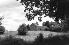 Farmhouse (MCorrigan1983) Tags: jch400 streetpan 2016 bw dunhammassey jchstreepan400 nikkor50mmf14ais nikonfe2