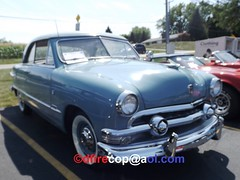 1951 Ford Victoria (dfirecop) Tags: dfirecop antique classic historic auto car truck vehicle countryandtown baptist church mechanicsburg pa pennsylvania 1951 ford victoria