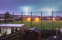 Lightening over Derry (Paul Millar44) Tags: derry weather storm thunder lightening nightshot night long exposure