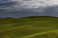 Stormy sky (Agrippino Salerno) Tags: valdorcia tuscany hills green canon countryside clouds sky sunrise sanquiricodorcia shadow light agrippinosalerno travel trees cypress beautiful