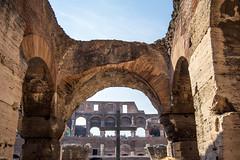 IMG_6728 (Eric.Burniche) Tags: colosseum flavianamphitheatre colosseo anfiteatroflavio roman rome roma romaitaly romeitaly italy italia ancient ancientrome travel ruins
