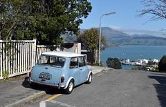 1966 Austin Mini (stephen trinder) Tags: lyttelton stephentrinder stephentrinderphotography nz newzealand kiwi landscape 1966 austin mini