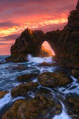 Corona Del Mar, CA (Dara Lork) Tags: coronadelmar california beach sunset nikon