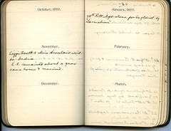 Diary of Robert Wallace p.19 (Community Archives of Belleville & Hastings County) Tags: 1880s 1890s 1900s 1910s 1920s diaries homechildren
