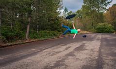 Inverted (Jason _Ogden) Tags: marypoppins whatgoesupmustcomedown gravity orange d90 hat inverted nikon black floating simplyirresistable flickrfriday green vr18200mm umbrella sfgiants forcesofnature