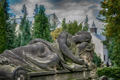 Rest in peace (ralfkai41) Tags: kirche catholic sachsen friedhof statue church faith sterben dresden cementary believe saxonia katholischerfriedhof glaube dying