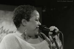 Mandy Gaines (Natali Antonovich) Tags: mandygaines portrait jazz themusicvillage brussels sweetbrussels belgium belgique belgie monochrome singer emotion character femininity charm smile