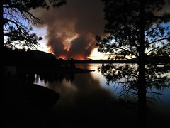 MOUNTAIN FIRE (The VIKINGS are Coming!) Tags: fire controlburn forestfire sierranevada lakedavis plumascounty wow
