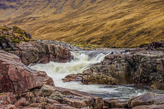 Making a Splash (Brian Travelling) Tags: riveretive glenetive westhighlands scotland scenery scenic water rocks rocky rock