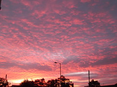 Sunset over West Derby, Liverpool (Neil 02) Tags: redsky clouds dusk evening liverpool merseyside