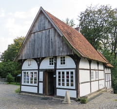 IMG_5306 (jaglazier) Tags: 18thcentury 18thcenturyad 2016 91416 architecture bauernmuseum bielefeld buildingmuseums buildings copyright2016jamesaglazier deciduoustrees farmmuseum germany museums september teutoburg teutoburgforest teutoburgerwald trees woodenbuildings woodworking art crafts halftimbered inscriptions timber writing nordrheinwestfalen