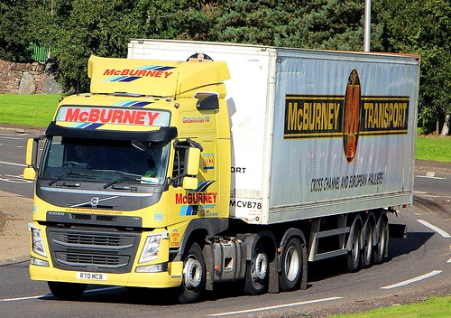 VOLVO FM - McBURNEY TRANSPORT Balleymena Co.Antrim NI