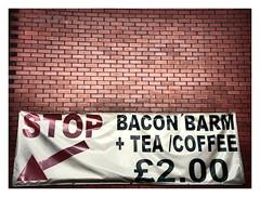 "Stop ! (CJS*64 ""Man with a camera"") Tags: stop swinton sign advert cheap baconegg nikon nikkorlens nikkor nikond7000 dslr d7000 tea coffee teacoffee poster 2 craigsunter cjs64 cjs 18mm105mmlens colour arrow point barm manchester"