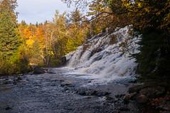 Bond Falls (nikons4me) Tags: michigan mi bondfalls up upperpeninsula autumn fallcolor nikond300 sigmaaf1850mmf3556dc waterfalls