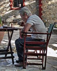 an early morning cofee (teogera) Tags: hellas greece macedonia makedonia pieria ayiospanteleimonas olympus e330 zuiko f35561445mm        cofee greek greekcofee macedoniagreece timeless macedonian
