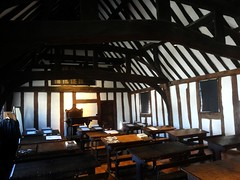 [45326] Stratford : Guildhall - The Georgian School Room (Budby) Tags: stratford stratfordonavon stratforduponavon warwickshire timbered school 15thcentury