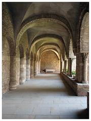 Abbaye Saint-Philibert de Tournus (abac077) Tags: abbaye saintphilibert tournus abbey bourgogne saoneetloire 71 architecture roman église cloitre closter
