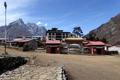 Ankunft in Tengboche (Alfesto) Tags: nepal trekking wanderung himalaya namche khumbuarea sagarmathanationalpark tengboche