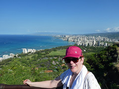 (Mitchell Lafrance) Tags: 2016 vacation travel holiday hawaii oahu diamondhead marysepage pagemaryse