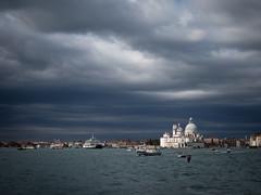 venice (schromann) Tags: 20161007 venedigvenice2016 venedig venice venezia san salute lagoon cloudy wolkig