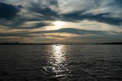 | UNDER THE LIGHTS - Bangladesh | (mdanwarhossain) Tags: river road shining water bangladesh sky clouds landscape padma outdoor ocean coast shore seaside sea vehicle lake boat cloud