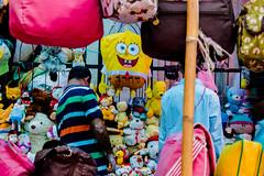 | HAPPY FACES - Dhaka, Bangladesh | (mdanwarhossain) Tags: bag teddy roadside outdoor people colors colorful yellow cartoons kids street dhaka bangladesh best happy smile