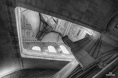 Stairs @ Museum (brenac photography) Tags: brenac d810 france nikond810 brenacphotography nikon wow paris fr clement ader aeroplane avion escalier stairs samyang hdr noir blanc oloneo