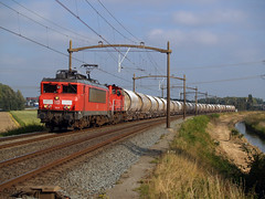 DBC 1614 (jvr440) Tags: trein train spoorwegen railroad railways dbc db cargo 1600 1614 dolime dordrecht wieldrechtse zeedijk