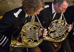 A Musical Showcase (Greater Manchester Police) Tags: greatermanchesterpoliceband policeband victoriahall bolton concert music doublehorn germanhorn frenchhorn