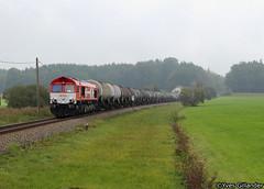 Rheincargo DE 670, Kilegg 27.09.2016 (Trainspotting-Wiki) Tags: rheincargo hgk de 670 aichstetten ulm kislegg