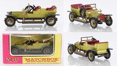MBY-10-Rolls-lime-green (adrianz toyz) Tags: matchbox yesteryear toy model car rollsroyce diecast y10 151 scale 1906