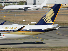 """Singapore Airlines. Delivery for Airbus A350 Stycker """"10,000 The Airbus Aircraft"""" (Jacques PANAS) Tags: singapore airlines airbus a350941 9vsmf msn054"""