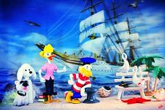 Moby Duck il marinaio (_Gi_) Tags: toys sea fun fantasy colours disney dog