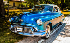 1951 Buick Super Eight (The Sergeant AGS (A city guy)) Tags: blue cars exploration icons oldcameras sony sonyhx20v unitedstates