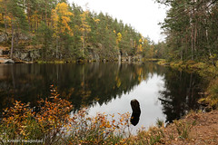 Autumn lake      Explored 17.10.2016 (K. Haagestad) Tags: lake autumn oslo reflections nature norway