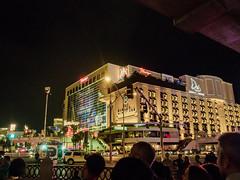 Las Vegas Strip (Anthony's Olympus Adventures) Tags: flamingo casino hotelcasino hotel building lasvegas lasvegassightseeing lasvegaslandmarks lasvegasboulevard lasvegasstrip nevada nv usa america strip night nightime nightscene afterdark dark lights