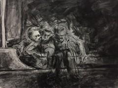 otro segundo (lauramurillom) Tags: carboncillo charcoal portrait retrato nio boy kid drawing disegno dessin dibujo