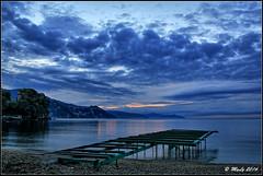 Long time comin' (Maurizio Longinotti) Tags: sanmicheledipagana sanmichele rapallo golfodeltigullio marligure mare sea seascape nuvole clouds dawn alba mattino cielo sky liguria italia italy costa