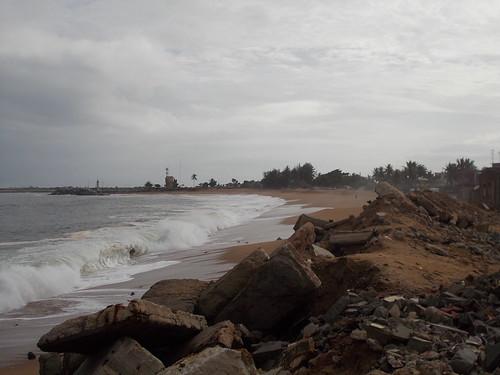 Près du port d'Abidjan