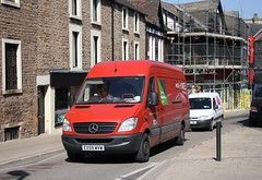 Parcel Force in Mansfield (Moving Britain) Tags: mansfield parcelforce ex59wvw