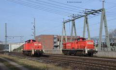 290 522-2 mit 291 036-8 DB Schenker (vsoe) Tags: railroad train harbor hamburg engine eisenbahn railway hafen bahn lok züge güterzug güterzugstrecke