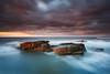 Rocky Island, Seaton Sluice (Alistair Bennett) Tags: sunset seascape evening rocks northumberland polarizer seatonsluice nd09 rockyisland canonef1740mmƒ4lusm gnd075he