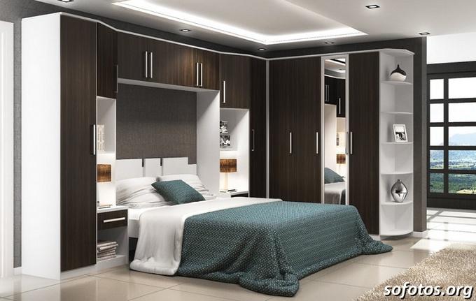 Quero Ver Cores De Quarto De Casal ~ Fotos de quartos de casal planejados e decorados