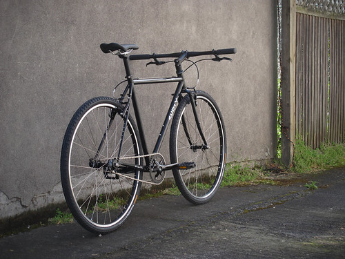 "Single Speed Surly Crosscheck ""BLACK"""