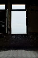 E guardavamo il mare (scarpace87) Tags: sea beach window dark nikon mare decay fear memories rimini finestra colonia ricordi spiaggia abandonment colony buio paura abbandono 35mmf2 degrado d7000