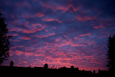 Catford sunset 1 (clogsilk) Tags: sunset catford 2013