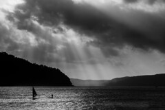 Pittwater Storm (Mike Hankey.) Tags: storm clouds pittwater