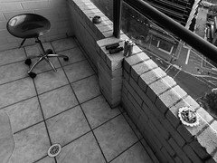 Sydney balcony (eanwe) Tags: high balcony seat sydney ashtray rise flickrandroidapp:filter=none