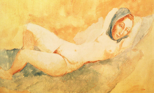 "Majas, homenajes de Francisco de Goya y Lucientes (1802), Eugéne Delacroix (1826), Amadeo Modigliani (1916), Pablo Picasso (1906), (1931), (1959), (1964). • <a style=""font-size:0.8em;"" href=""http://www.flickr.com/photos/30735181@N00/8746855789/"" target=""_blank"">View on Flickr</a>"
